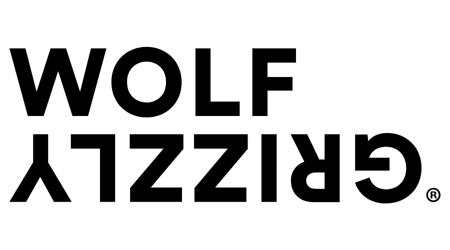 Wolf and Grizzly Logo Vector