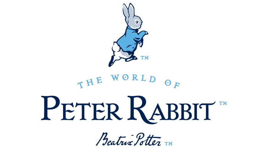 Peter Rabbit Logo Vector