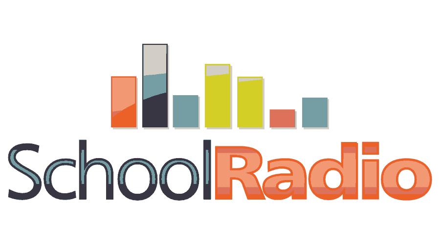 School Radio Logo Vector
