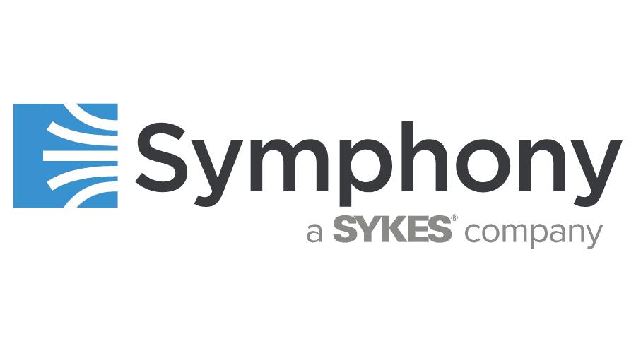 Symphony, a SYKES Company Logo Vector