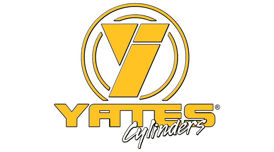 Yates Cylinders Logo Vector
