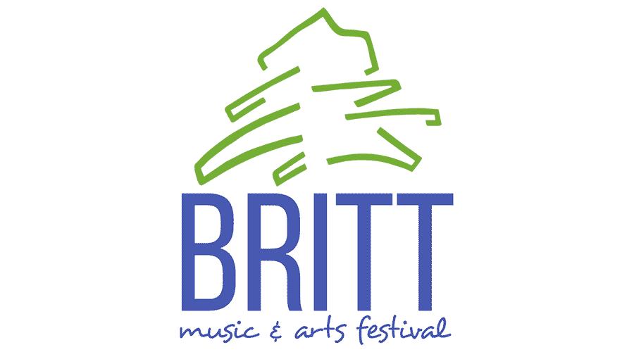Britt Music and Arts Festival Logo Vector