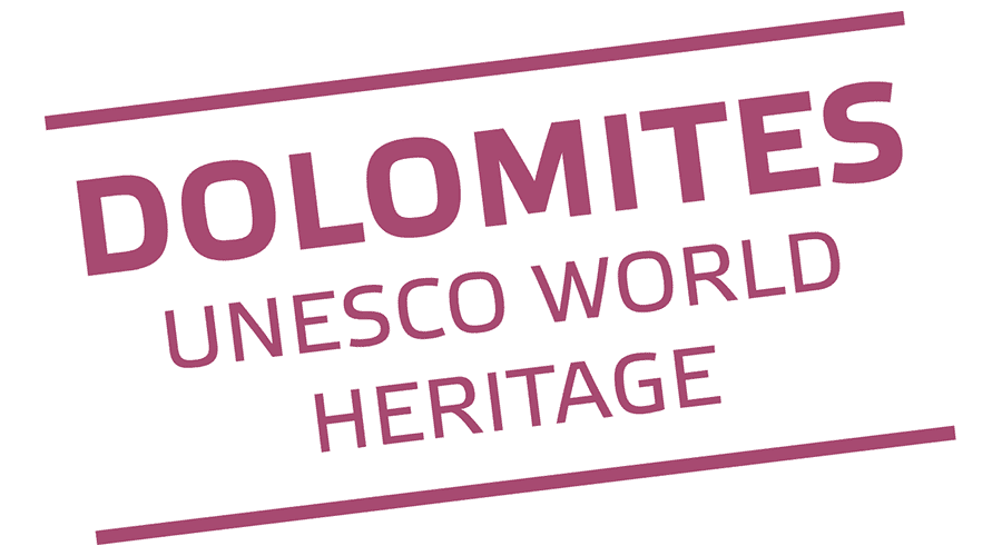 Dolomites, UNESCO World Heritage Logo Vector
