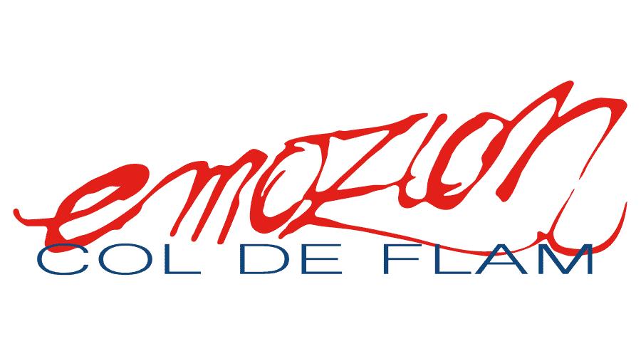 Emozion Col de Flam Logo Vector