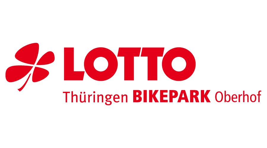 LOTTO Thüringen BIKEPARK Oberhof Logo Vector