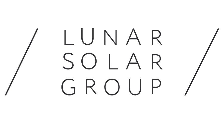Lunar Solar Group Logo Vector