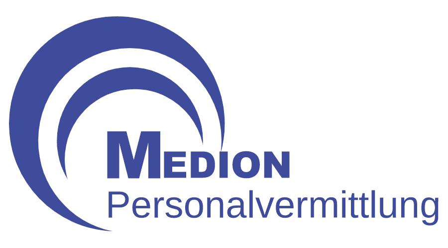 Medion Personalvermittlung Logo Vector
