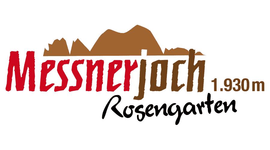 Messnerjoch Rosengarten Logo Vector