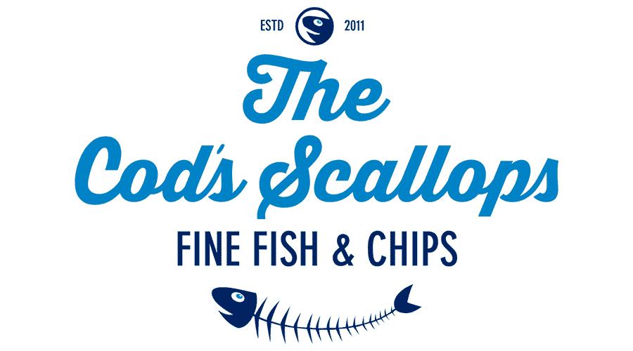 The Cod's Scallops Logo Vector