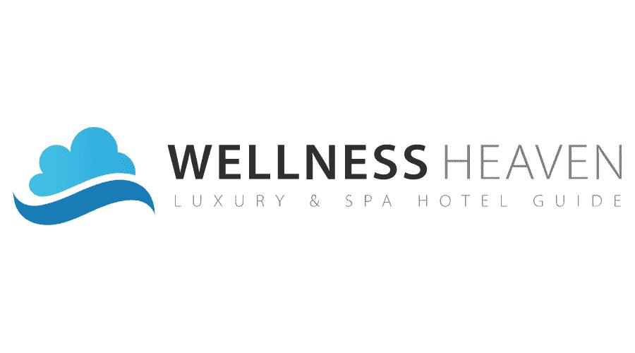 Wellness Heaven Hotel Guide Logo Vector
