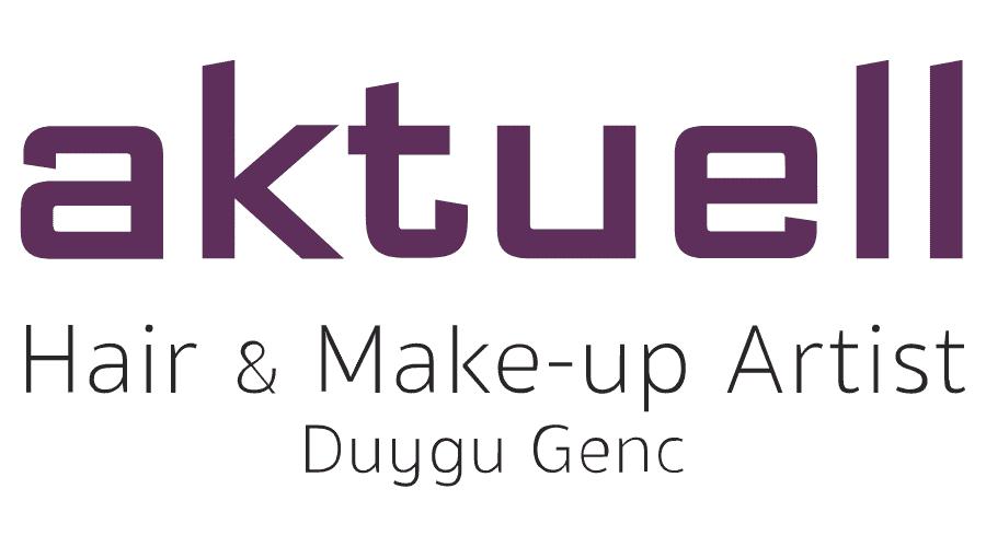 aktuell Friseur and Make-up Artist Logo Vector