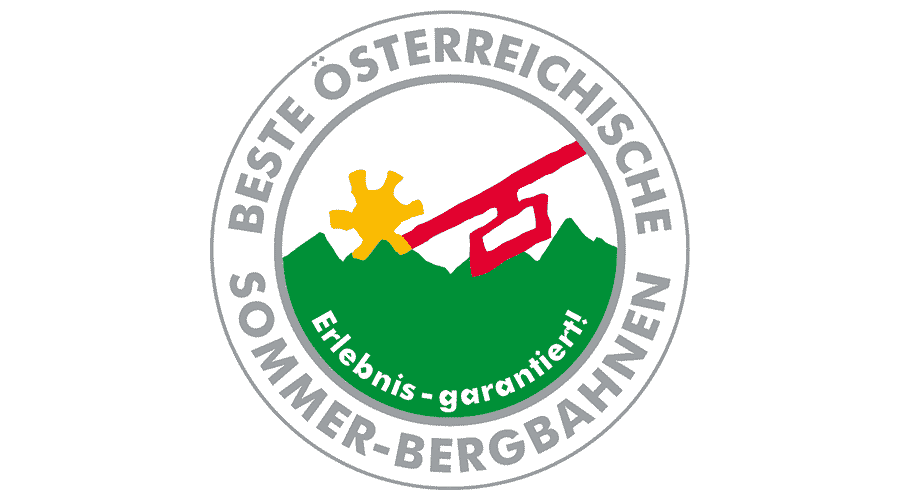 Beste Österreichische Sommer-bergbahnen Logo Vector